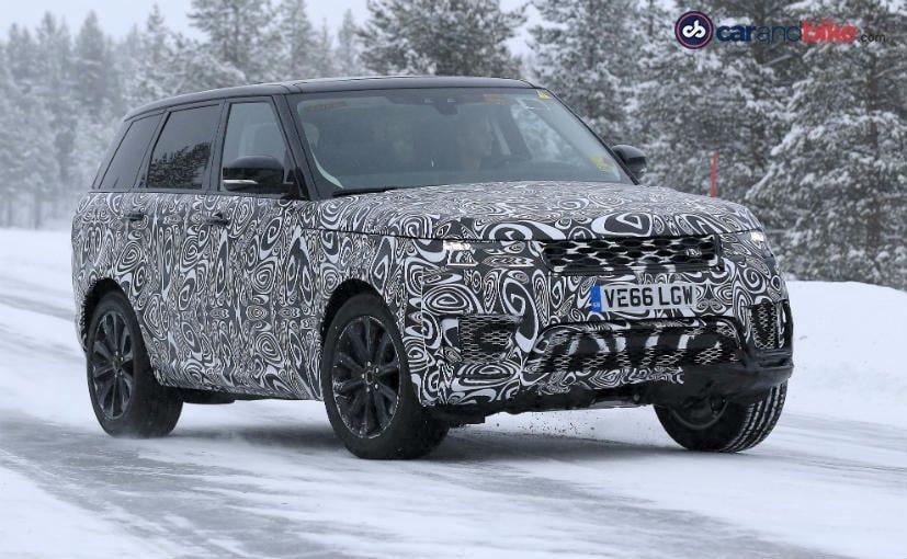Range Rover Sport Facelift Spotted Testing