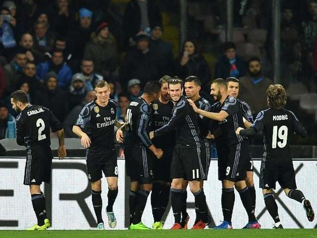 Sergio Ramos, Alvaro Morata Strike as Real Madrid Crush Napoli