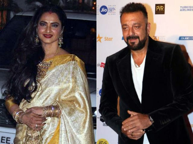 No, Rekha And Sanjay Dutt Aren't Married. This Rumour Is 'Wrong'