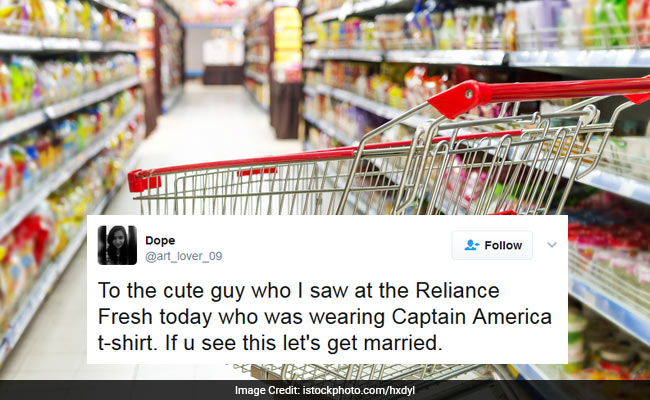 She Saw Him At A Grocery Store... Now Twitter Is Loving This Love Story