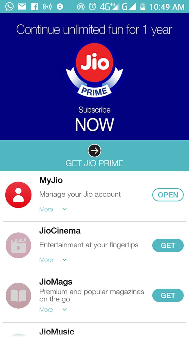 reliance jio 4g prime offer