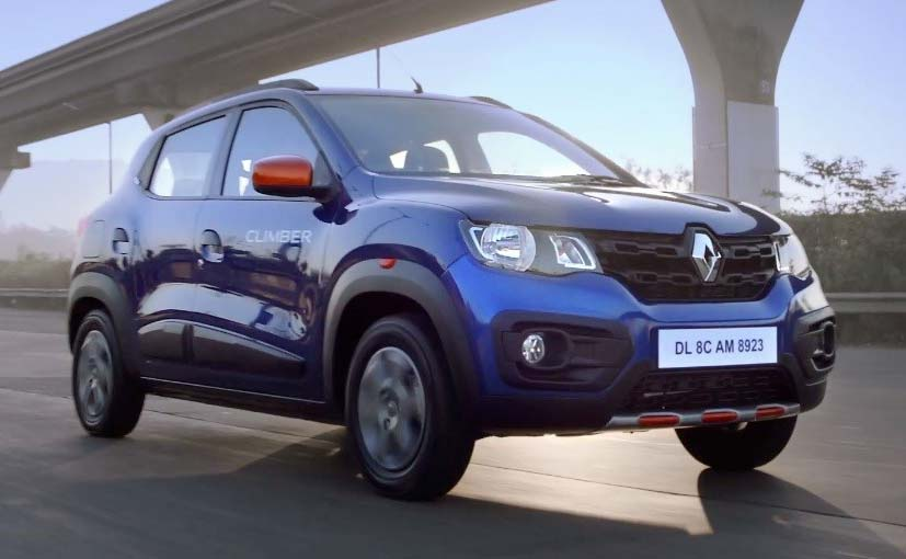 renault kwid climber launched in india prices start at rs lakh ndtv carandbike. Black Bedroom Furniture Sets. Home Design Ideas