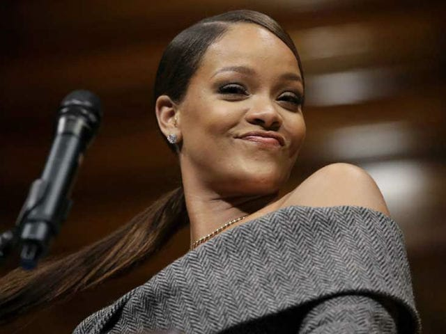 'So, I Made It To Harvard': Rihanna Accepts Humanitarian Of The Year Award With A Hair Flip