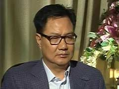 Minister Kiren Rijiju To NDTV: 'Didn't Know About Rape Threats To Gurmehar Kaur'