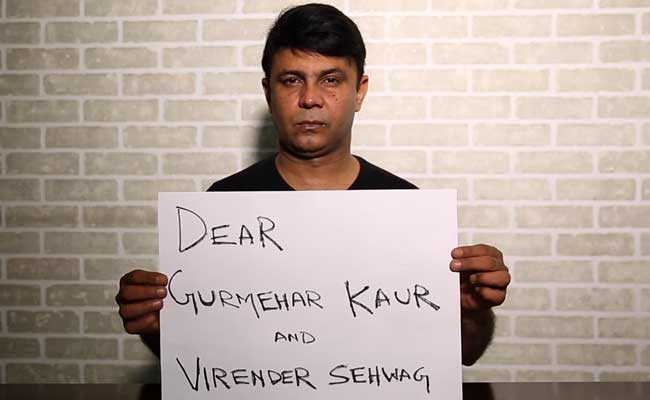 RJ Naved Has A Message For Gurmehar And Sehwag. Find Out What It Is