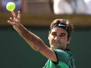 Roger Federer Stunned By Tommy Haas On Return