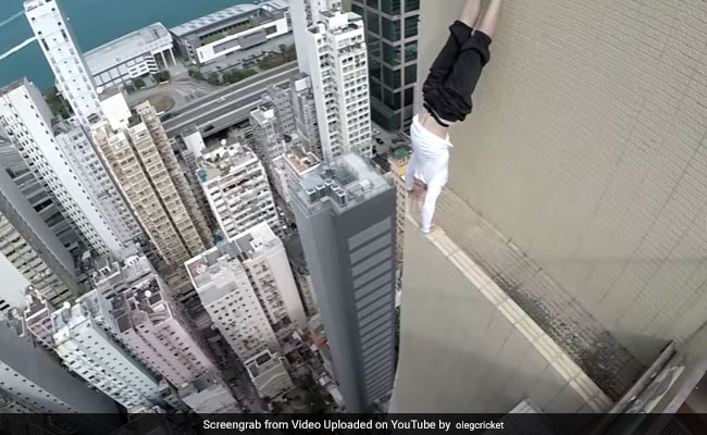 Most Dangerous Workout Ever? Internet Is Divided Over This Daredevil's Stunts