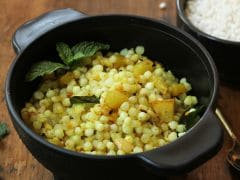 High-Protein Diet: Make Your Sabudana Khichdi Protein-Rich With This Recipe