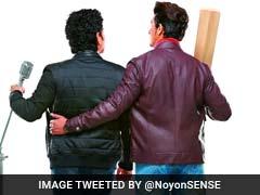 Viral Pic: अरे यह क्या, सचिन तेंदुलकर के हाथ में माइक! आखिर माजरा क्या है ...?