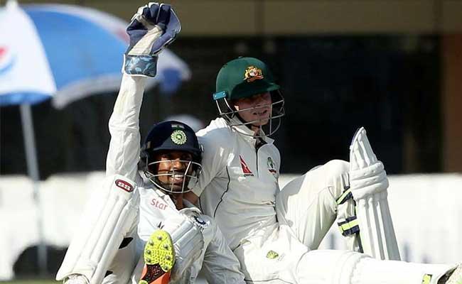 INDvsAUS: रांची टेस्ट के दौरान आया नाटकीय क्षण जब बल्लेबाज, फील्डर और अम्पायर सब हंस पड़े...