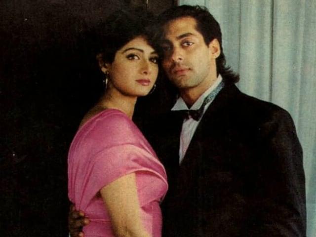 Salman Khan Says Sridevi, A Legend, 'Cannot Be Compared' With The Khans And Akshay Kumar