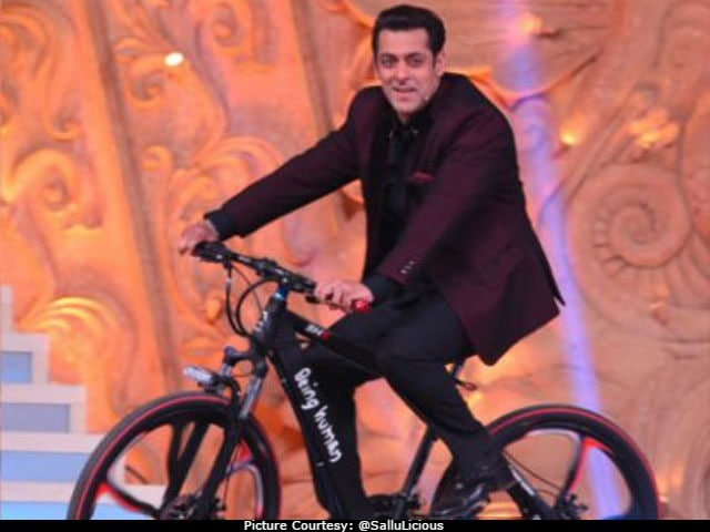 Salman Khan Spotted On A Bicycle, Again. Pic Goes Viral