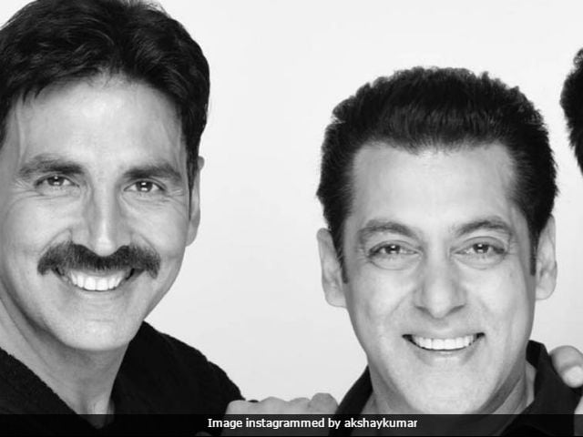 Salman Khan Says He Is 'Very Much' Doing A Film With Akshay Kumar
