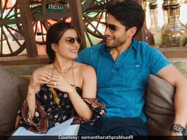 Samantha Ruth Prabhu And Naga Chaitanya Make An Adorable Couple. Here's Proof