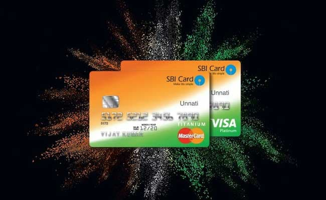 Payment of sbi credit card through cheque book