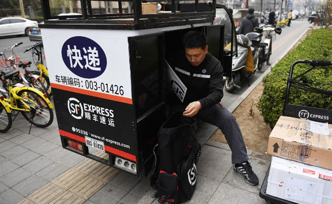 sf express china delivery afp