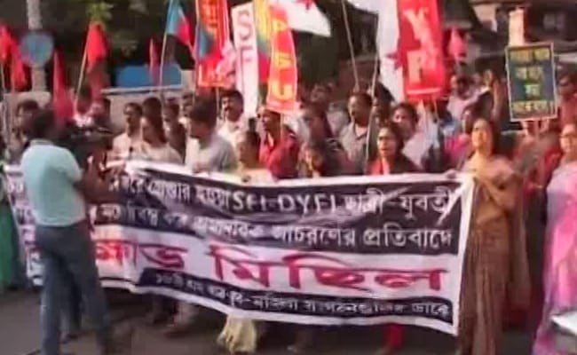 Left Student Activists Allege Sexual Harassment By Kolkata Jail Staff