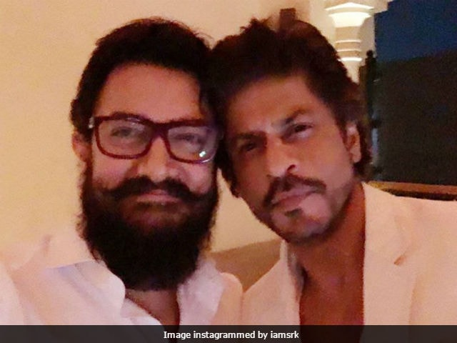 Shah Rukh Khan: Aamir And I Don't Discuss Work