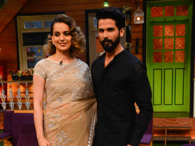 Shahid Kapoor Hopes Kangana Ranaut 'Gets Along With Some Co-Stars'