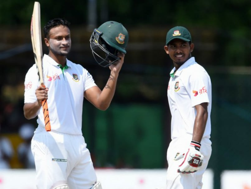 2nd Test: Shakib Al Hasan, Mosaddek Hossain Put Bangladesh On Top vs Sri Lanka