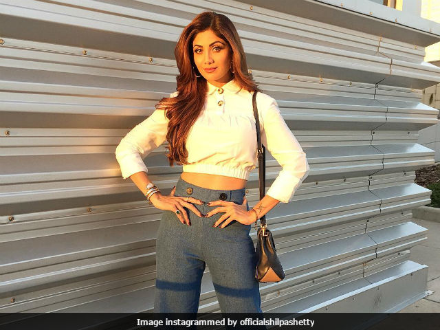 Shilpa Shetty Does A Naagin Dance After Having Bhaang On Holi. Watch The Video Here