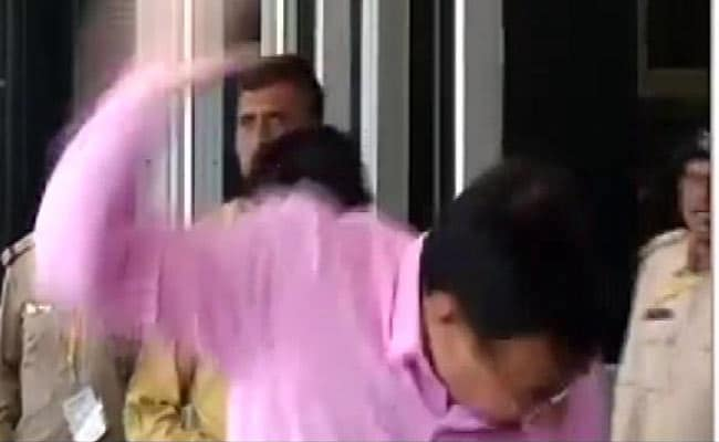 Prohibition In Mind, Man Hurls Shoe. This One At Gujarat Minister