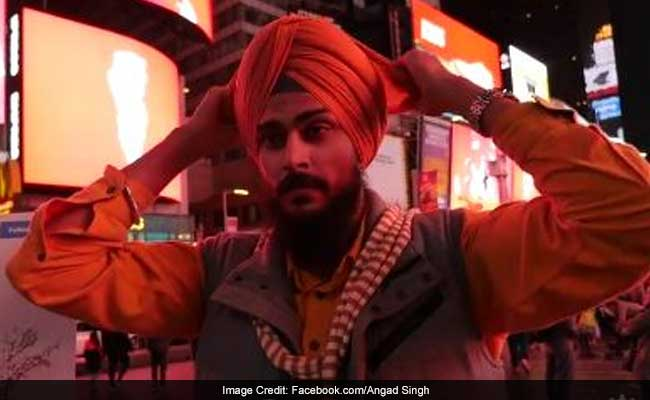 Half A Million Views For This Sikh Man's 'Turban' Protest At Times Square