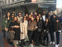Sonam Kapoor's Rumoured Boyfriend Anand Ahuja Joins Her Mother's Birthday Celebrations In London. See Pic