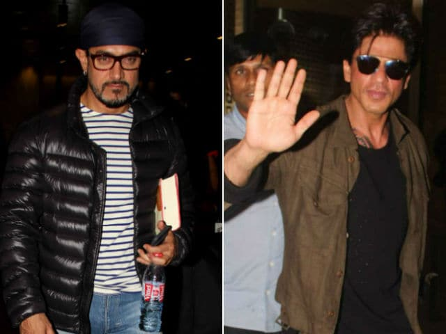 Shah Rukh, Aamir Khan May Finally Be Teaming Up - And Not For A Selfie