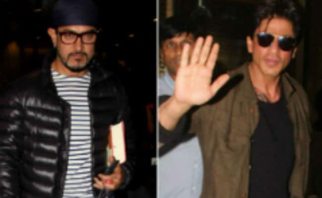 <i>नई सोच</i> अभियान के लिए स्क्रीन पर पहली बार साथ नजर आ सकते हैं शाहरुख और आमिर खान