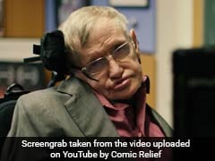 Stephen Hawking 'Auditions' Celebrities To Be His New Voice In Viral Video