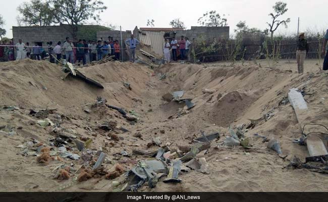 Su-30 Jet Crashes Into House In Rajasthan, Pilots Eject, 3 Injured