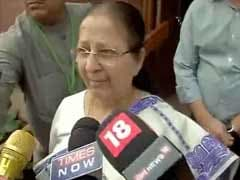 Can't Initiate Action Against Shiv Sena MP For Assault, Says Speaker Sumitra Mahajan