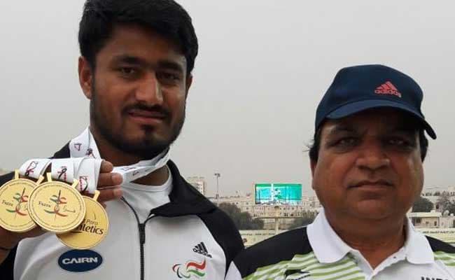 पैरालिंपिक से अंतिम समय पर बाहर हुए सुंदर गुर्जर ने दुबई में रचा इतिहास, गोल्डन हैट्रिक लगाई...