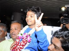 Oscars 2017: Sunny Pawar, 8, Flies Home To Blockbuster Welcome At Mumbai Airport