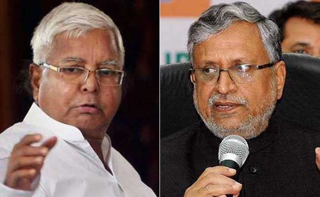 Lalu Yadav vs Sushil Modi On Twitter Again. This Time On Yogi Adityanath