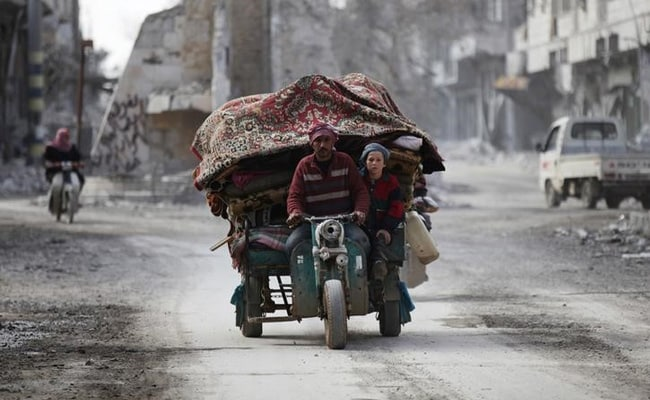 Far From War's Front Lines, Life In Syria Is Still Tough