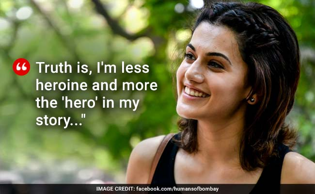 Taapsee Pannu Says She's The Hero Of Her Story In Viral Facebook Post