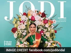 Tamil Bride Wearing Saree With Slit In Canadian Magazine Sparks Debate
