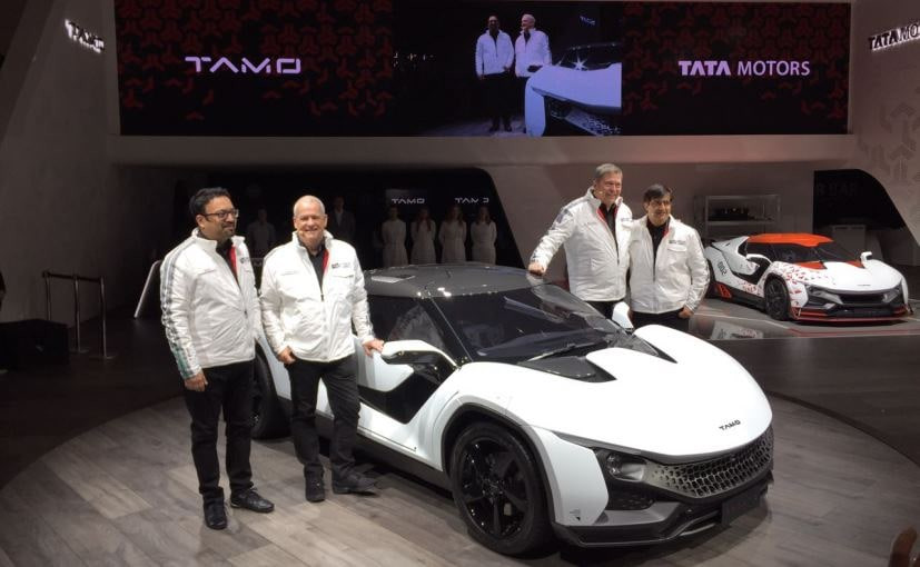 Geneva Motor Show 2017: Racemo Sports Coupe Is Tata's First Model Under TAMO Sub-Brand