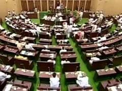 तेलंगाना विधानसभा से भाजपा के विधायक निलंबित, मुस्लिम आरक्षण में वृद्धि के खिलाफ कर रहे थे प्रदर्शन