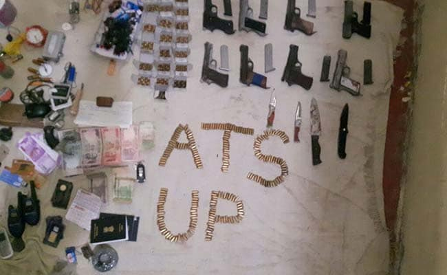 thakurganj encounter weapons