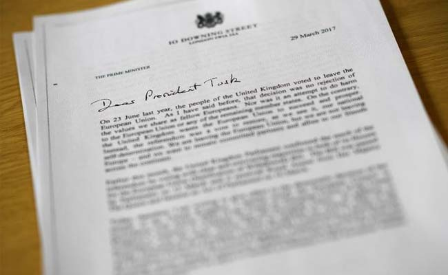 theresa mays letter to donald tusk reuters