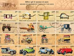 Postal Department Commemorates India's History Of Transport