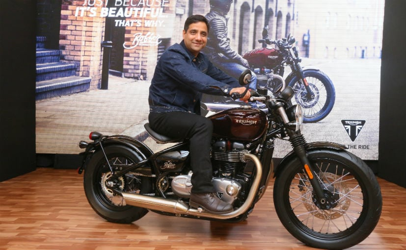 Triumph Bonneville Bobber Launched In India Priced At Rs 909 Lakh