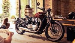 Triumph Bonneville Bobber: Pricing In India