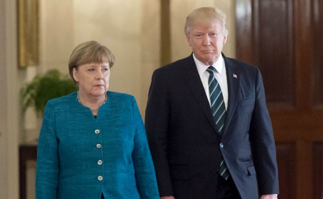 Angela Merkel Takes Aim At Donald Trump Ahead Of Stormy G20