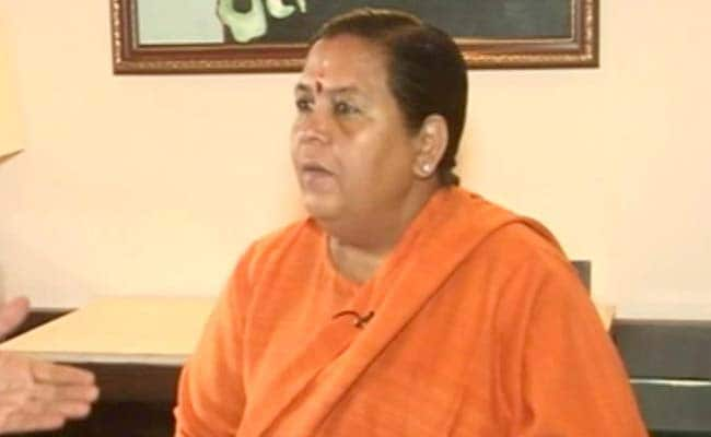UP Election 2017 - 'Either Rahul Gandhi Can Jump Into The Ganga Or I Will:' Uma Bharti's Riposte
