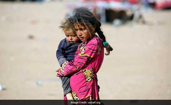 आईएस के आतंक के चलते मोसुल से एक हफ्ते में हुआ 15,000 बच्चों का पलायन: यूनिसेफ