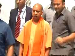 Gang-Rape Survivor Forced To Take Acid. Yogi Adityanath Visits Her In Hospital